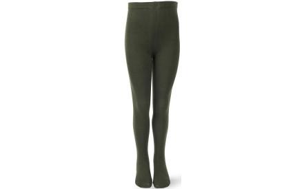 8285a750004 Dětské punčocháče Melton Basic Tights - army green - Skibi Kids