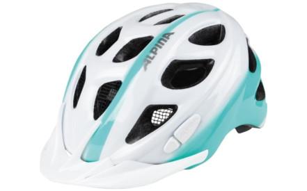 Dětská cyklistická helma Alpina ROCKY - white-smaragd 75a304c1582