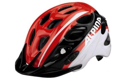 Dětská přilba na kolo Alpina Rocky - neon red-black-white c7694bb4b18
