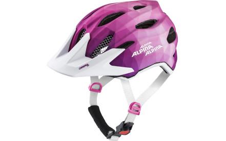 32a30fc2df Dětská cyklistická helma Alpina Carapax Jr. Flash - pink white