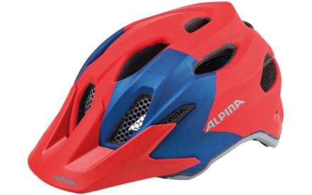 Dětská cyklistická helma Alpina Carapax Jr. - red-blue ced0bc2e11a