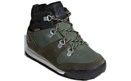 Dětské boty Adidas CW Snowpitch K - basgrn ngtcar ashsil 2db4c4fc7f