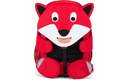 Dětský batoh do školky Affenzahn Fiete Fox large - red 1ea311e8b7