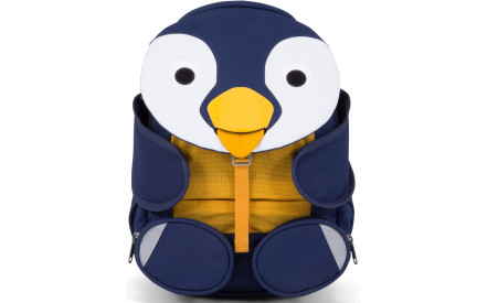 Dětský batoh do školky Affenzahn Polly Penguin large - petrol a5641a623a