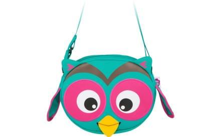 Dětská taška přes rameno Affenzahn Olivia Owl - turquoise f08725a97d