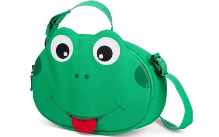 Dětská taška přes rameno Affenzahn Finn Frog - Green 9e03b145c5