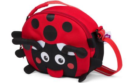Dětská taška přes rameno Affenzahn Lilly Ladybird - Red c490069e21