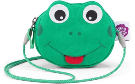 Dětská kabelka Affenzahn Purse Finn Frog - green f1afc1cc18