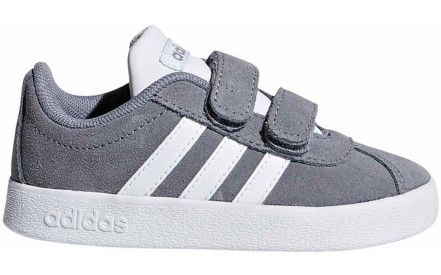 9ff916f04cb Dětské boty Adidas VL Court 2.0 CMF - grey