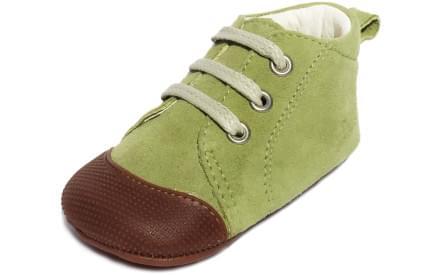 Dětské barefoot první botičky Dulis Baby - pistáciový sen 097d39b143