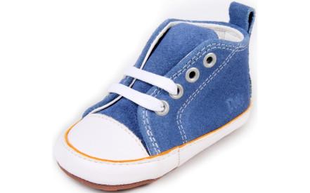 Dětské barefoot první botičky Dulis Baby Eco - džínový svět 7ba8149513