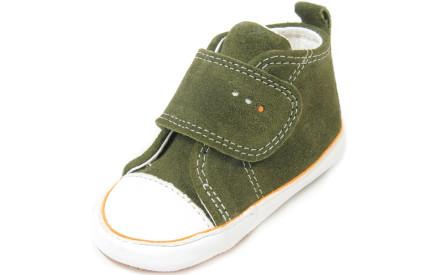 Dětské barefoot první botičky Dulis Baby Eco - olivový háj 893f1e42a4