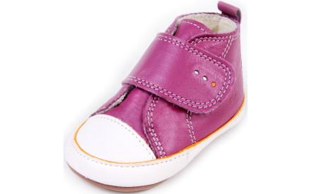 Dětské barefoot první botičky Dulis Baby Eco - třešňový sad 0070bdda06
