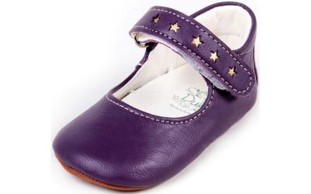 Dětské barefoot první botičky Dulis Baby Eco - fialový bál e177b9ceb0