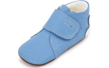 Dětské barefoot první botičky Dulis Baby - blankytná obloha 6a455afbd8
