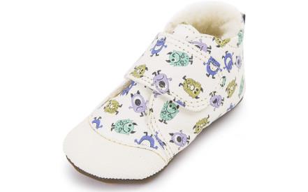 Dětské barefoot první botičky Dulis Baby - Monster be96186362