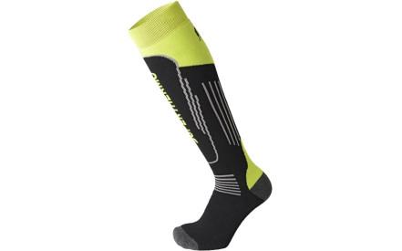 Dětské lyžařské ponožky Mico Heavy Weight Superthermo Primaloft Kids Ski  Socks - nero giallo fluo 8bb7d81ea5