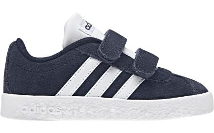 9a462e22f28 Dětské boty Adidas VL Court 2.0 CMF I - collegiate navy