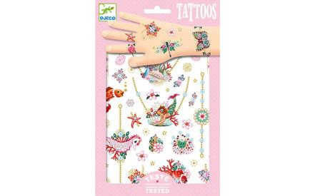 Dětské tetovačky Djeco - Skibi Kids 0d8ebecb8a