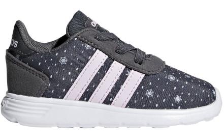 Dětské tenisky Adidas Lite Racer Inf - grey six aer pink clowhi 4e55c6739e