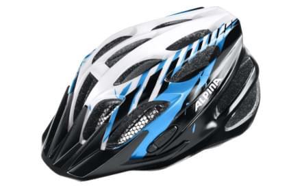 Dětská cyklistická helma Alpina FB Jr. 2.0 Flash - black-blue-white dfa0f843d7e