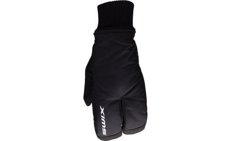 Dětské rukavice Swix Split mitt - black eabc85b830