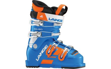 Dětské lyžařské boty Lange RSJ 60 - power blue c5a6378fd3