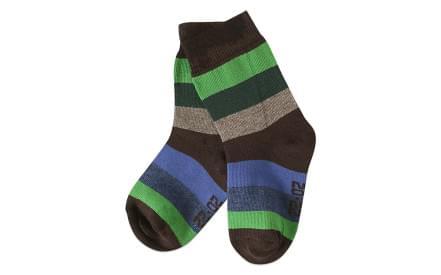 c79c661c2cc Dětské ponožky Melton Multi Stripe - chocolate