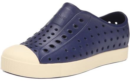 Dětské boty Native Jefferson Junior - regatta blue bone white 5b59ae3938