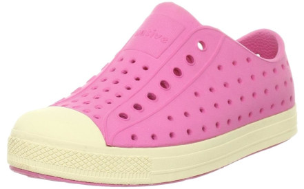 Dětské boty Native Jefferson Junior - hollywood pink bone white 6b9435612a