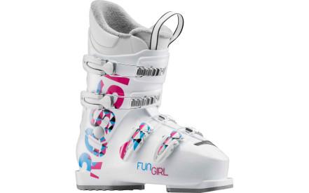 Dětské sjezdové boty Rossignol Fun Girl J4 white d0a3dfdf0b