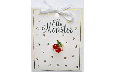 Dětský prstýnek Ella   Monster – Třešně 8174f3724b