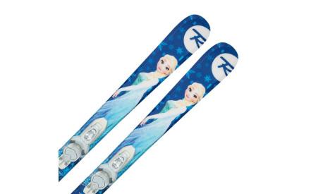 Dětské sjezdové lyže Rossignol Frozen Kid-X+vázání Kid-X 4 B76 wht ae0d687a17
