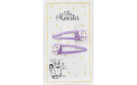 Ella Monster sponky Fialová sova 1a860ea899