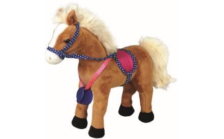 448b02b4b7b Dětská plyšová hračka Spiegelburg - koník Iva ve stáji