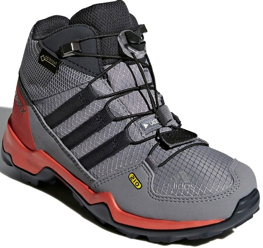 0b3bb87fe46 Dětské boty Adidas Terrex Mid GTX K - grethr grethr carbon - Skibi Kids