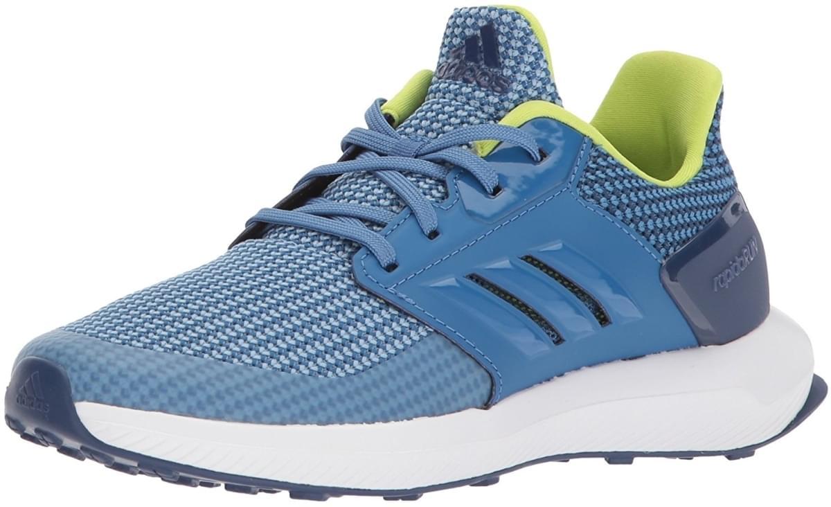 Dětské boty Adidas RapidaRun K - ash blue - Skibi Kids 150621da56