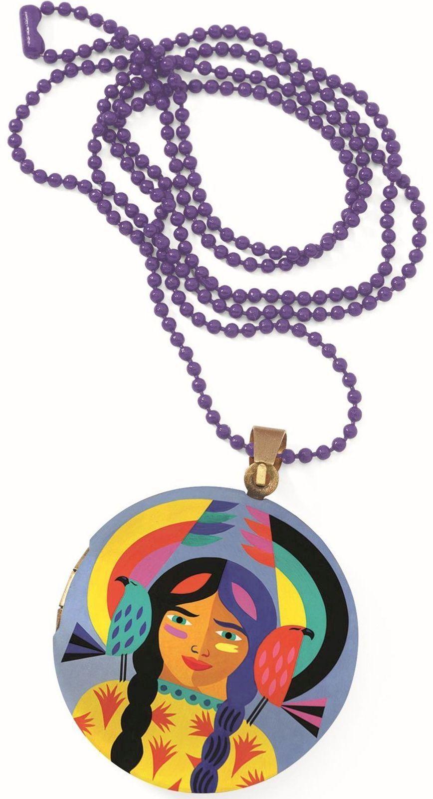 Djeco Dětský náhrdelník s medailonkem - Totem Djeco
