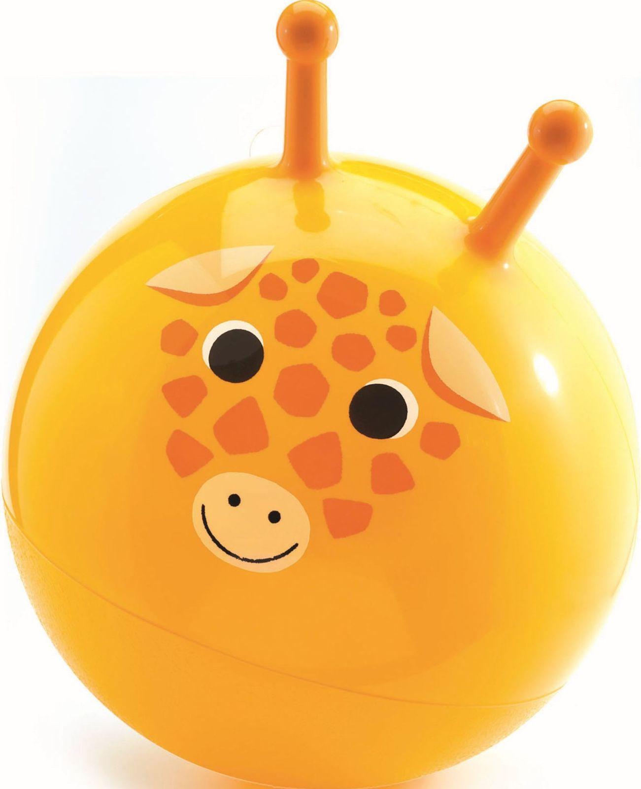 Djeco Dětský skákací míč – Žirafa