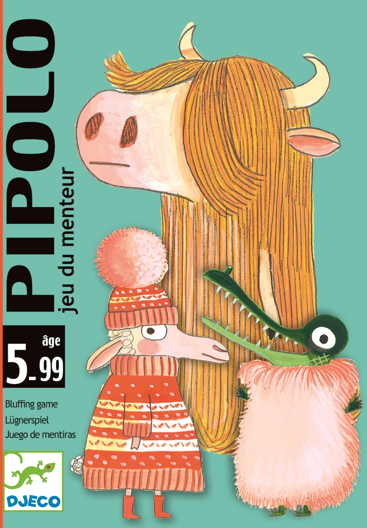 Karetní hra Djeco - Pipolo Djeco