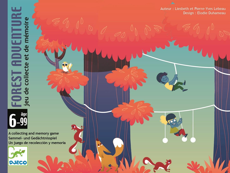 Karetní hra Djeco - Forest Adventure Djeco