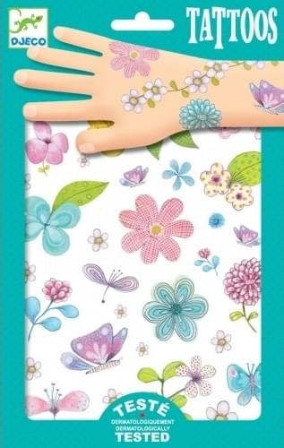 Dětské sada tetování Djeco - květiny - Skibi Kids 660f808b0b