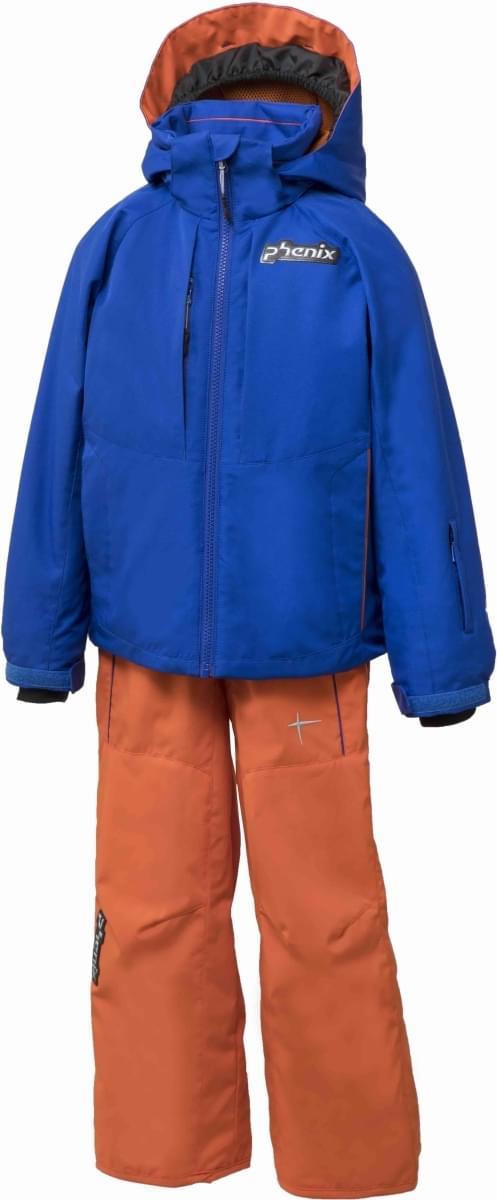 Dětská lyžařská souprava Phenix Norway Alpine Ski Team Replica Kids  Two-piece Suit - BL(OR) 0bc2cfa84e
