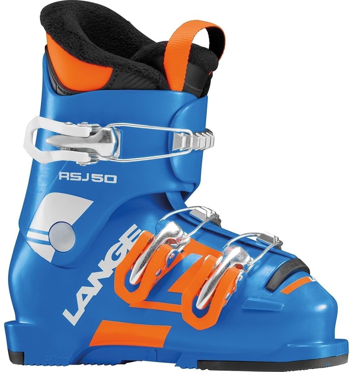 Dětské lyžařské boty Lange RSJ 50 - power blue - Skibi Kids 6b9085983a