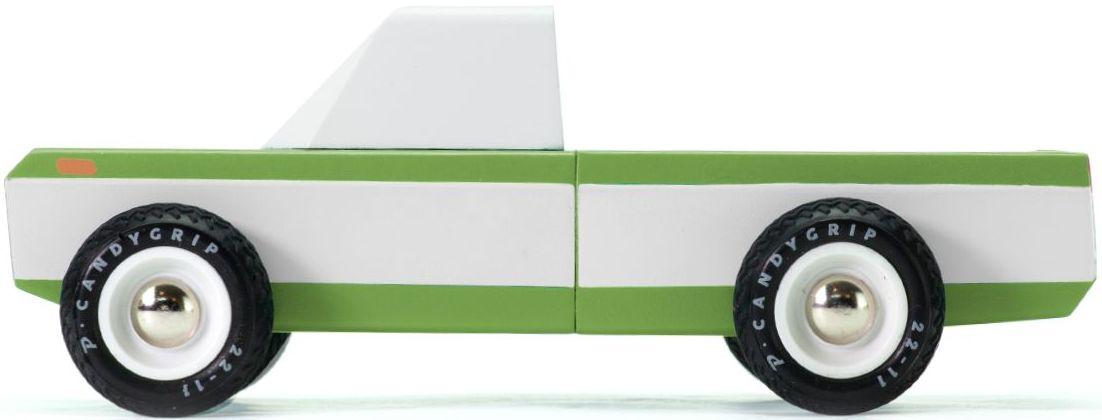 Candylab Dřevěné auto - Longhorn olive