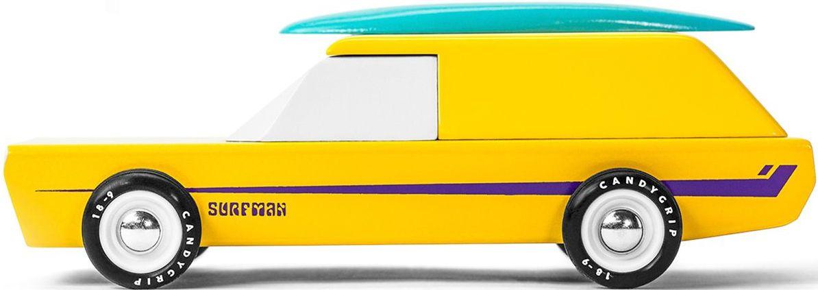 Candylab Dřevěné auto - Surfman