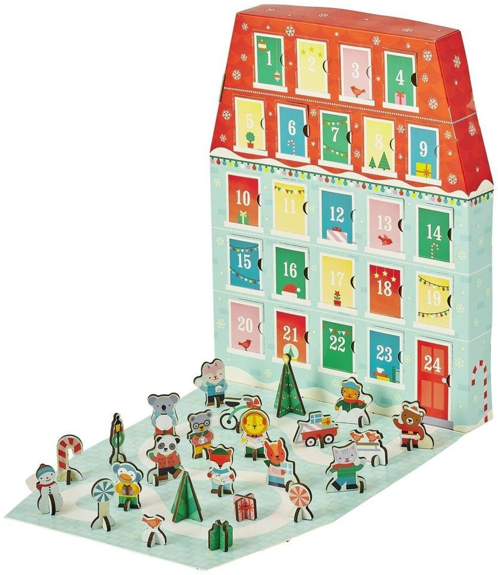 Petit Collage Merry Christmas Advent Calendar