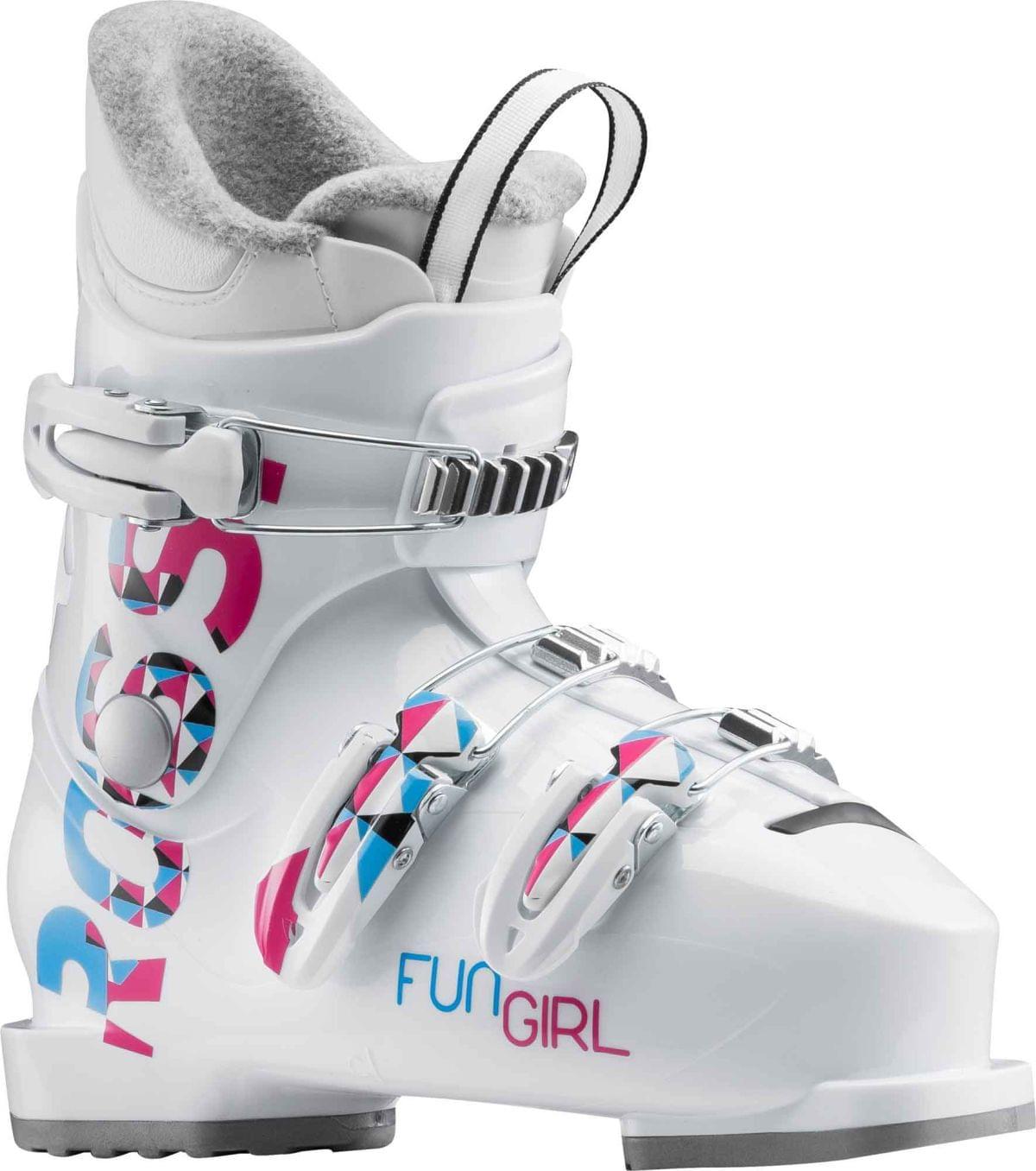 Dětské sjezdové boty Rossignol Fun Girl J3 white - Skibi Kids 9984b46c99