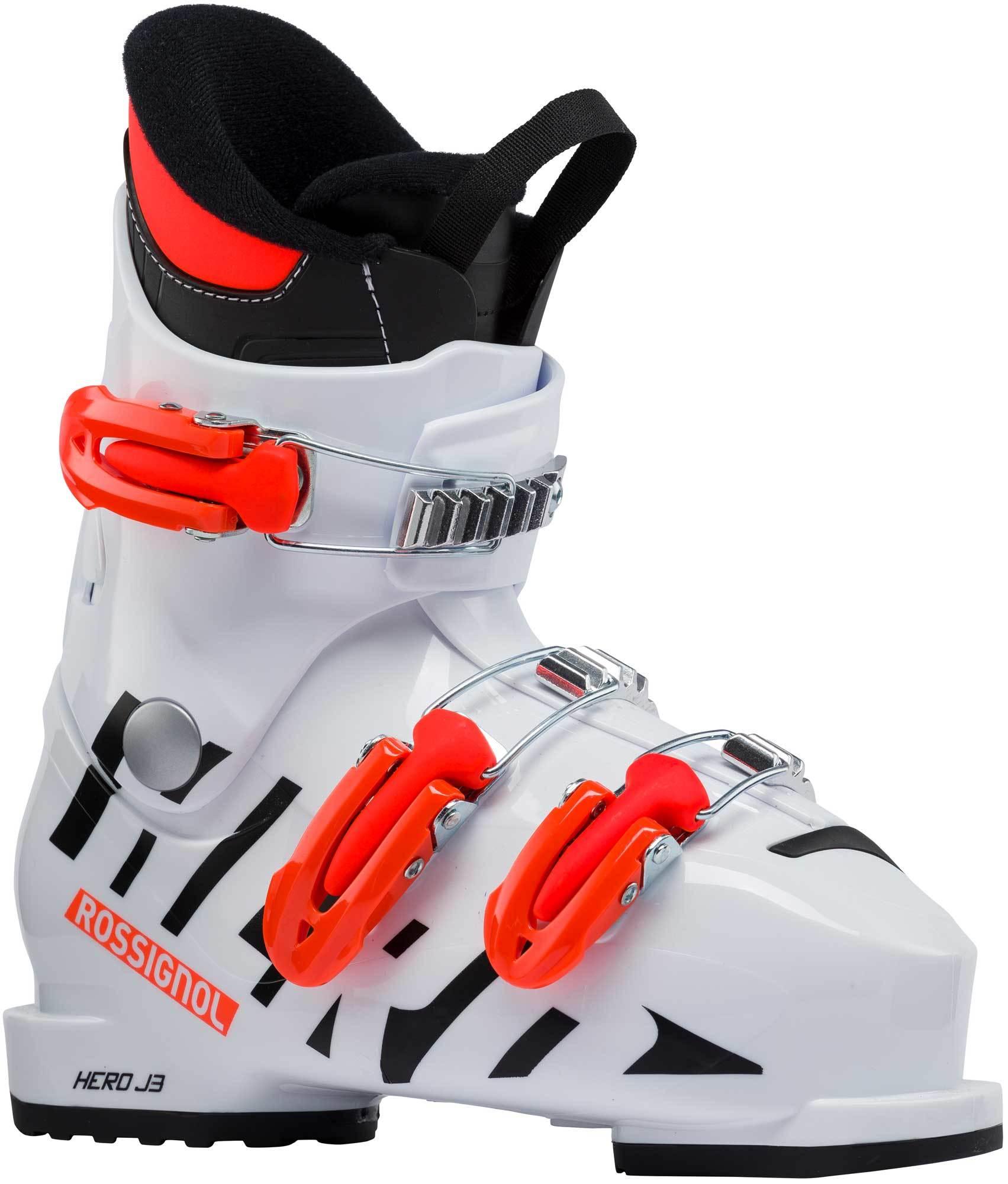 Dětské sjezdové boty Rossignol Hero J3 white - Skibi Kids 3272572e52