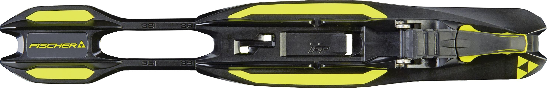 Fischer Race Jr Skate IFP - black yellow